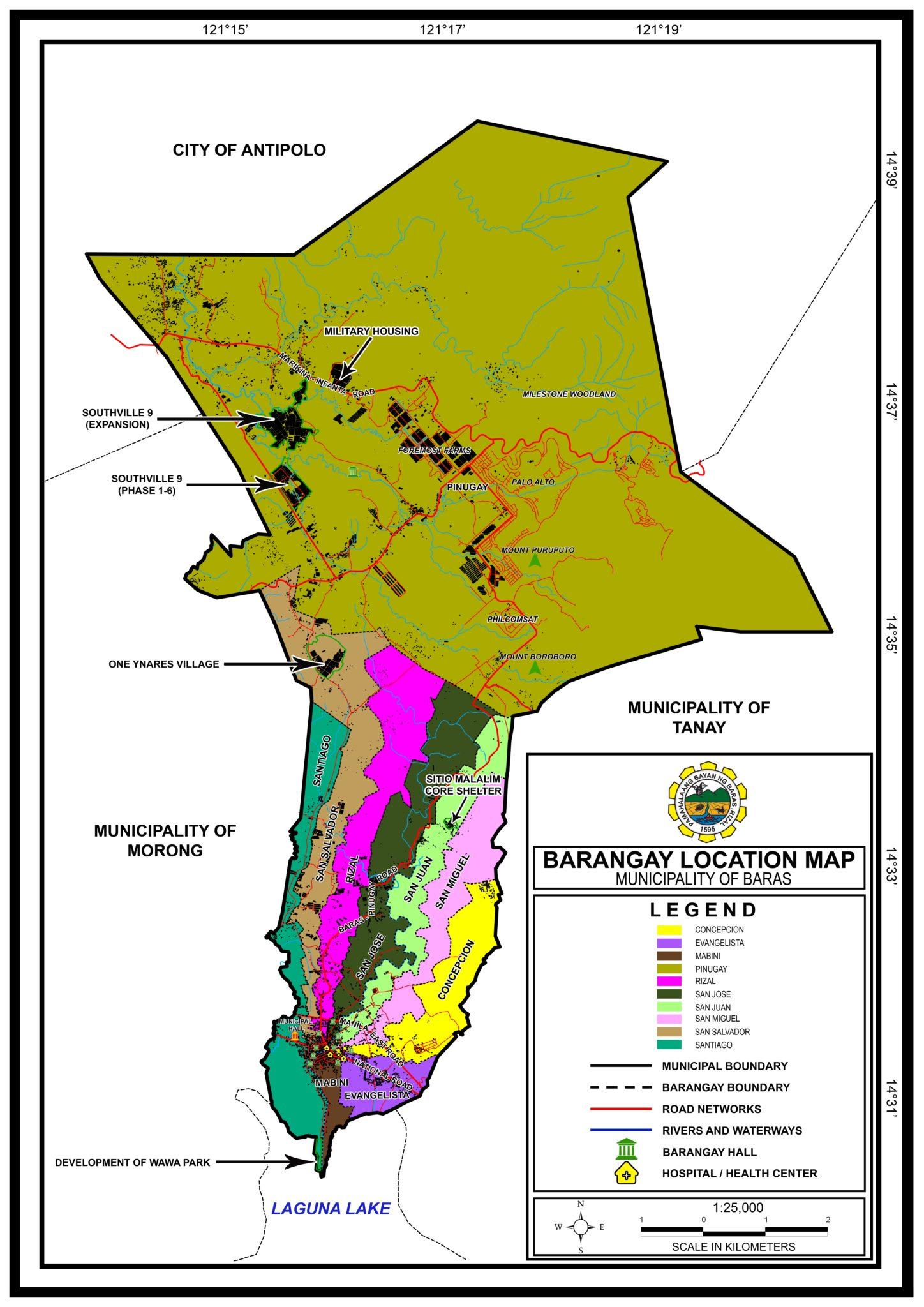 BARANGAY LOCATION MAP